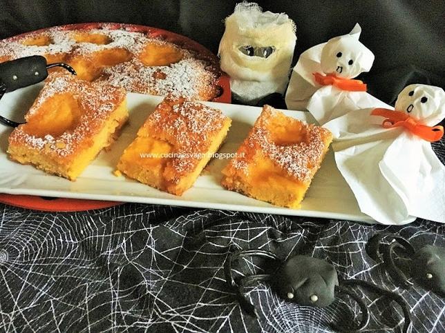 TORTA DI HALLOWEEN CON FARINA DI MAIS E ZUCCA - Cucina & Svago