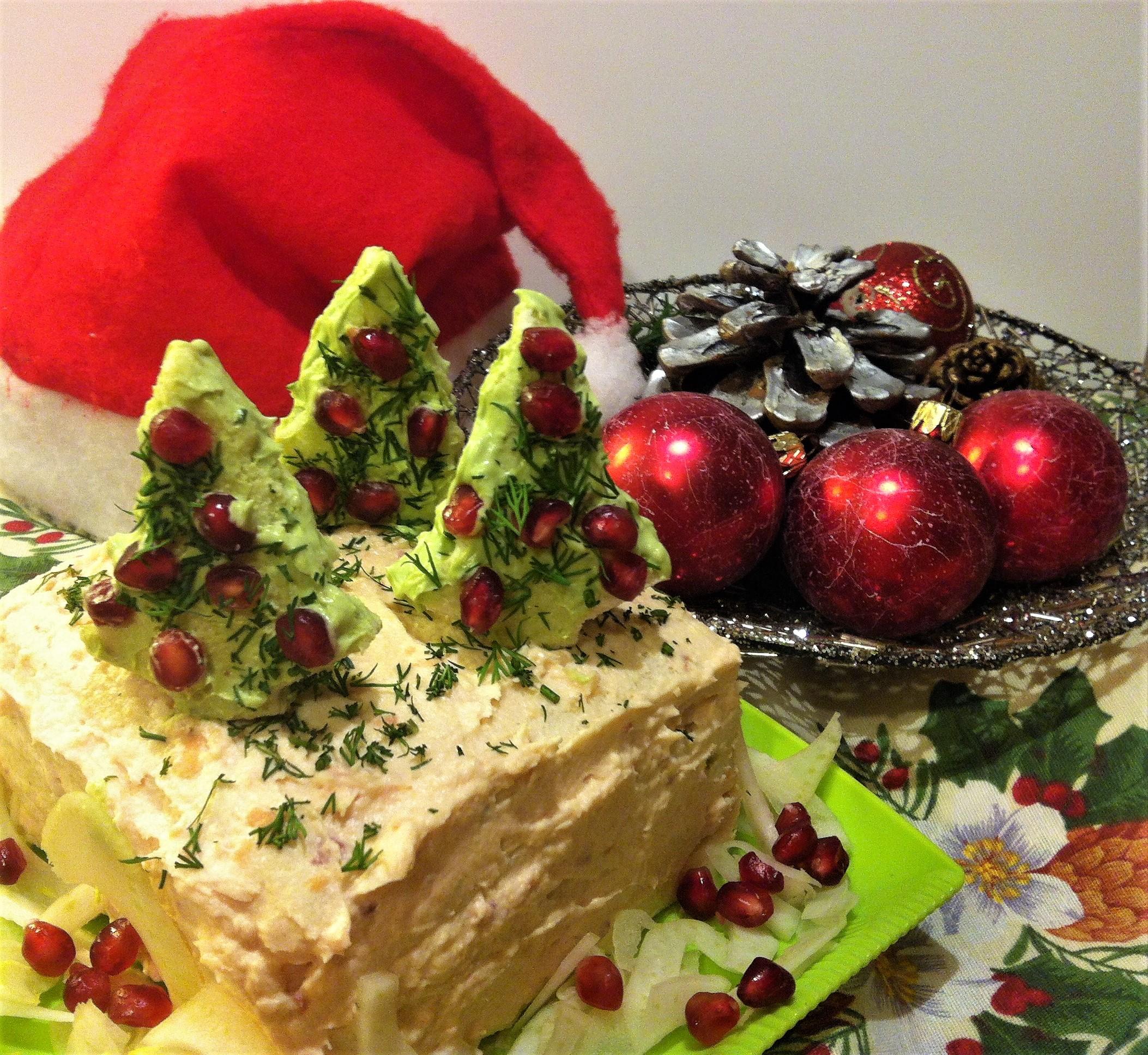 Antipasti Di Natale Sale E Pepe.Antipasto Di Natale Tramezzini Salmone E Avocado Cucina Svago